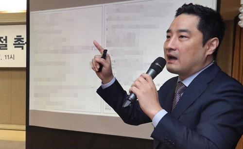 검찰 `도도맘 소송취하서 위조` 강용석에 징역 2년 구형…다음달 24일 선고